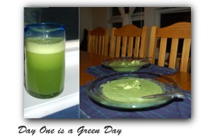 Green Lemonade and Broccoli Soup
